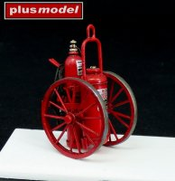 Wheel fire extinguisher 150LB