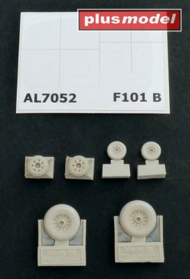 F-101B Woodoo wheels
